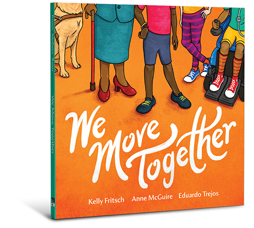 Image of We Move Together book on a white background